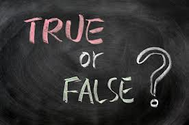 true false 2